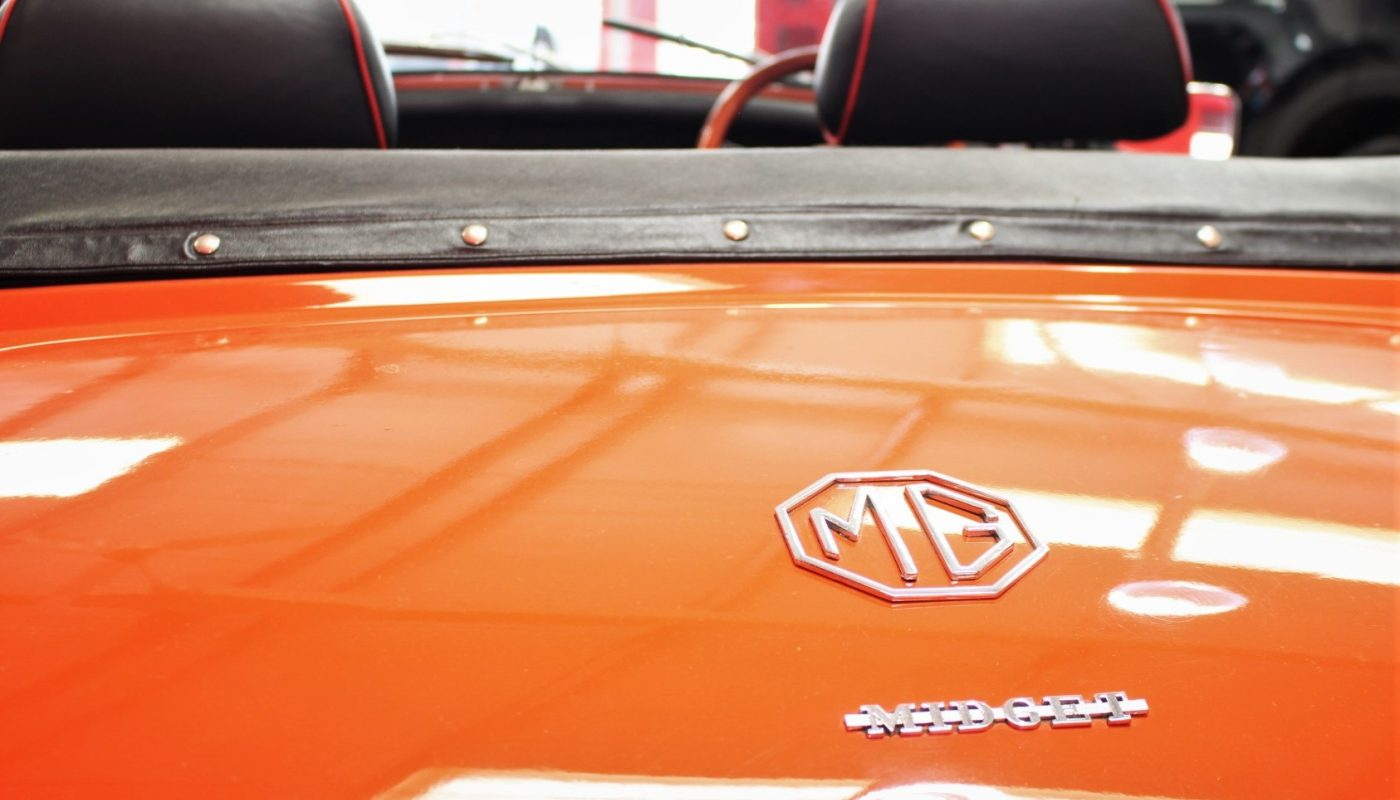 MG Midget Badge
