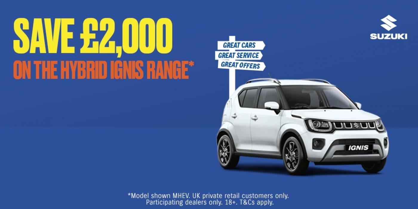 Suzuki - ignis offer