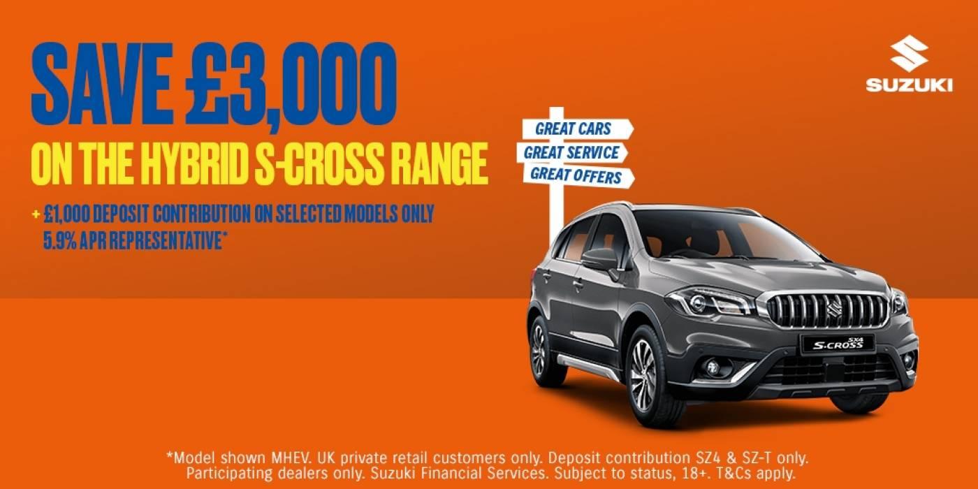 Suzuki - scross offer