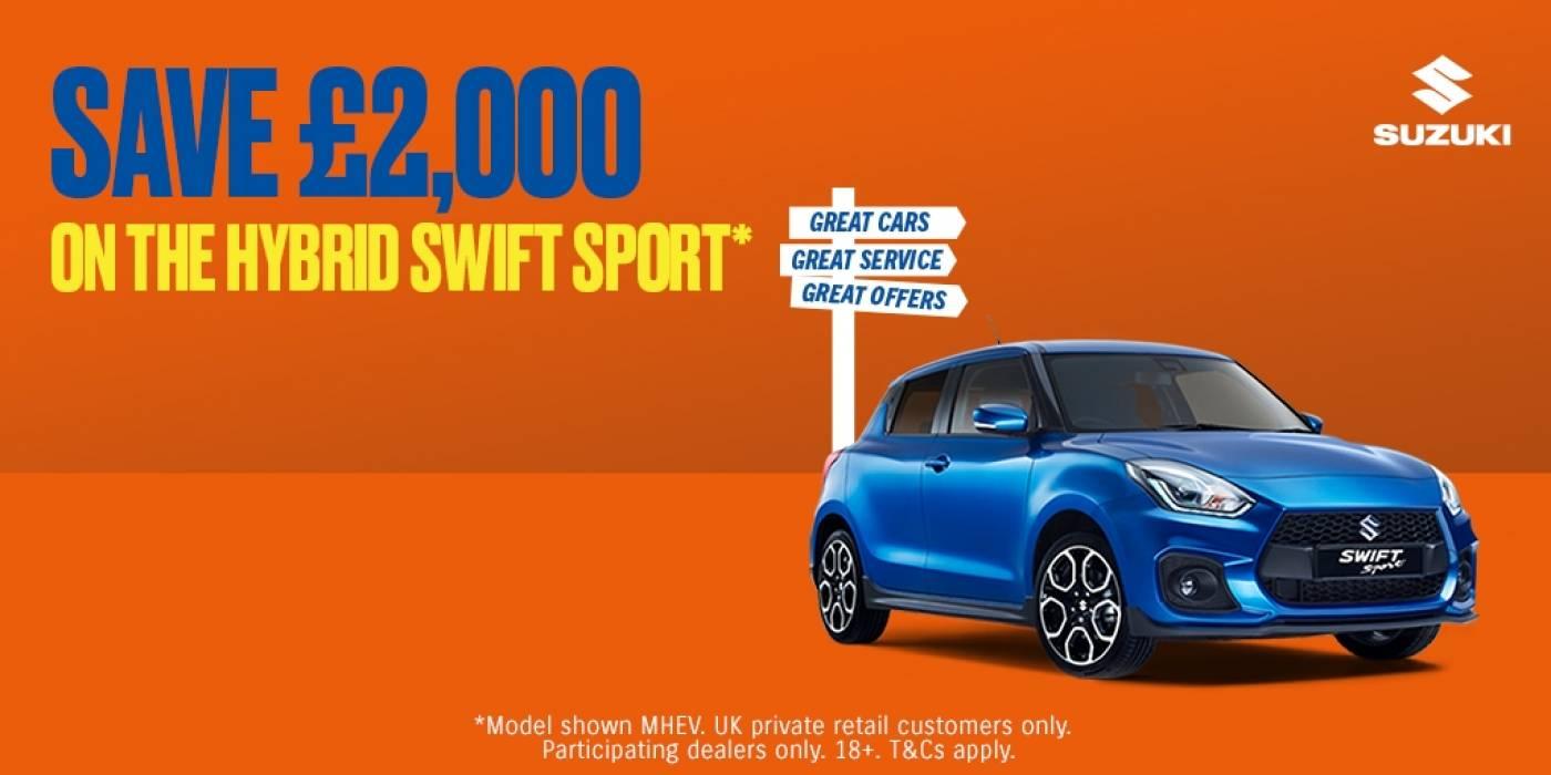 Suzuki - swift sport offer