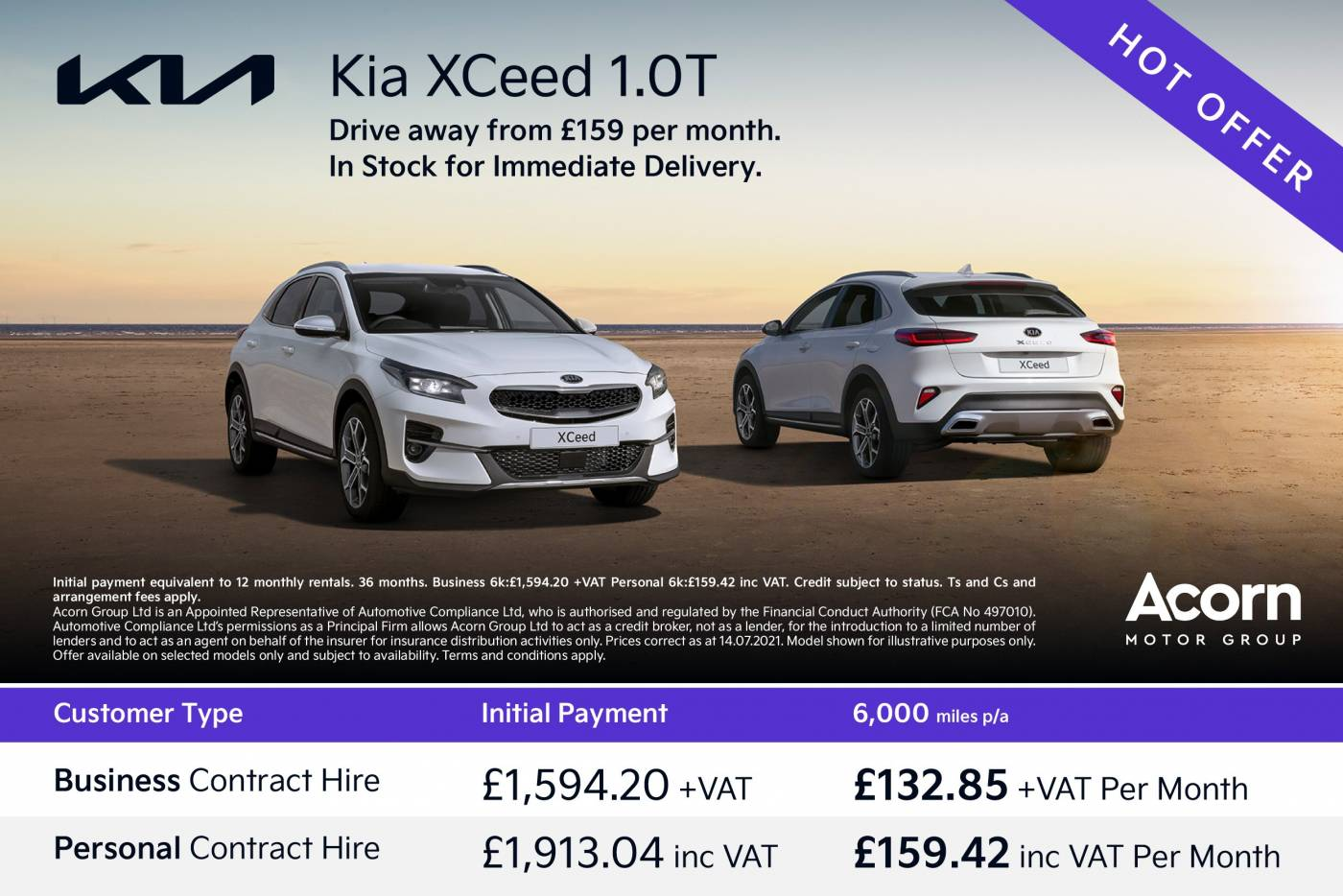 Xceed flash offer - business