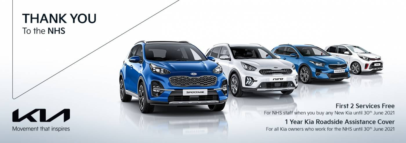 Kia - thank you NHS offer