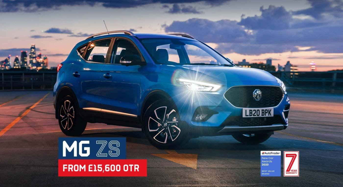 MG ZS ad - June