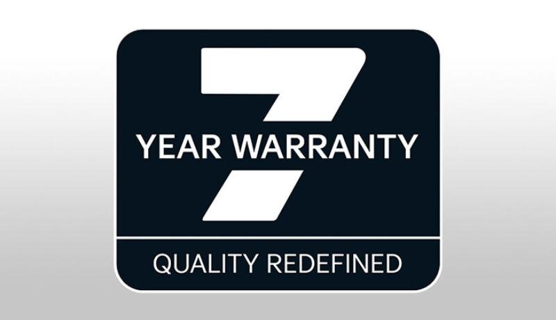 Kia's 7-year, 100,000-mile warranty