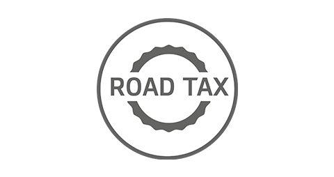 Road tax included