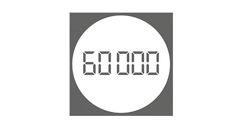 60,000 mile allowance