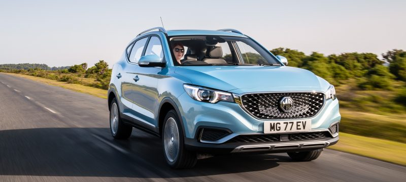 MG ZS 105kW Exclusive EV 45kWh 5dr Auto Hatchback Motability Offer