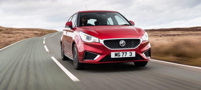 MG3 1.5 VTi-TECH Exclusive 5dr [Navigation] Hatchback Motability Offer