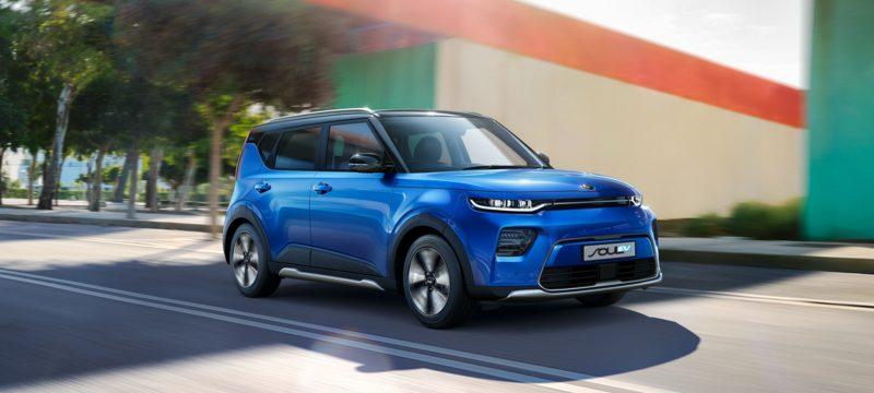 All-New Kia Soul EV First Edition Motability Offer
