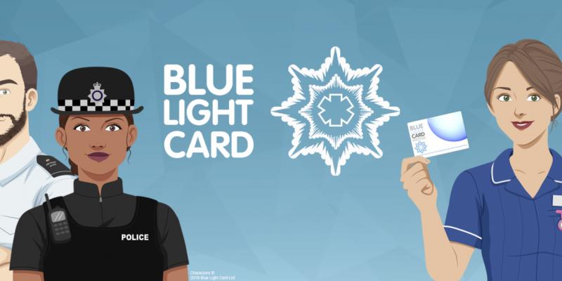 Blue Light Holder Discount