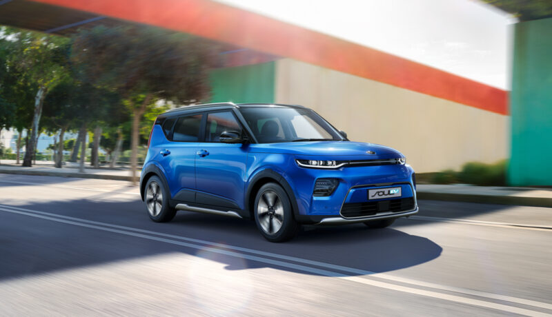 Explore the New New Kia Soul EV