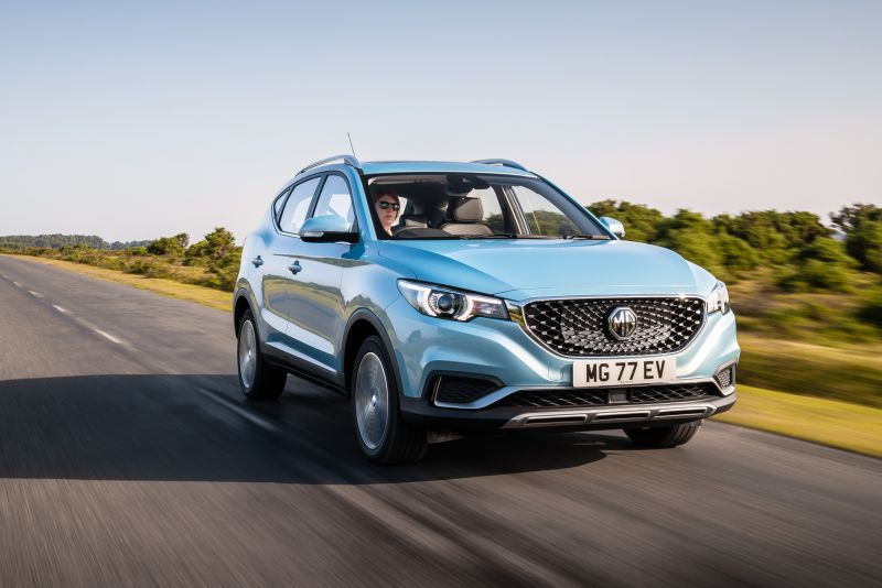 Discover the new MG ZS EV