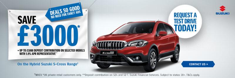 Suzuki - S-Cross offer